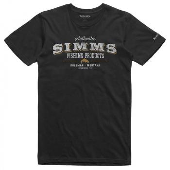 Футболка SIMMS Working Class T-Shirt цвет Black