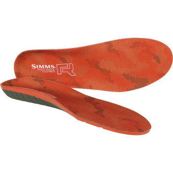 Стелька SIMMS Right Angle Plus Footbed цв. Orange р. L