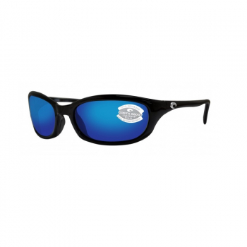 Очки COSTA DEL MAR Harpoon 580 P р. L цв. Shiny Black цв. ст. Blue Mirror