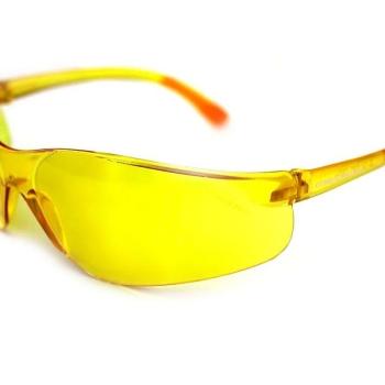 Очки защитные COMBATSHOP Active+ с желтой линзой