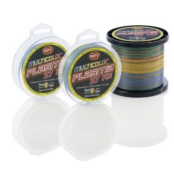 Плетенка WFT Plasma цв. Multicolor 600 м 0,36 мм в интернет магазине Rybaki.ru