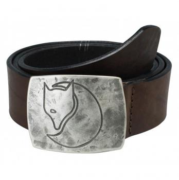 Ремень FJALLRAVEN Murena Silver Belt цвет Leather Brown