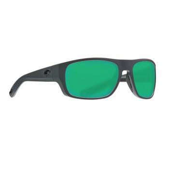 Очки поляризационные COSTA DEL MAR Tico 580P р. M цв. Matte Gray цв. ст. Green Mirror