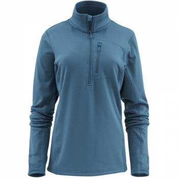 Пуловер SIMMS Women's Fleece Midlayer 1/2 Zip цвет Teal