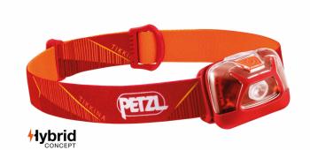Фонарь налобный PETZL Tikkina DA цв. красный в интернет магазине Rybaki.ru