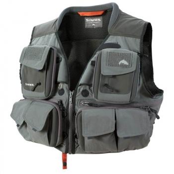 Жилет SIMMS G3 Guide Vest цвет gunmetal в интернет магазине Rybaki.ru