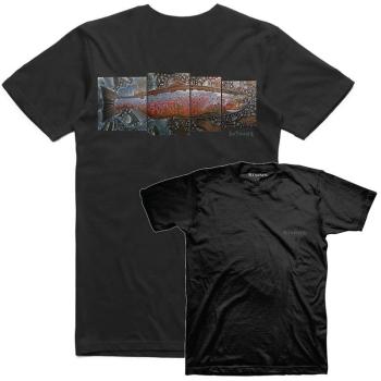 Футболка SIMMS DeYoung Salmon T-Shirt цвет Black