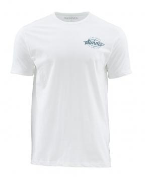 Футболка SIMMS Vintage Tarpon SS T-Shirt цвет White