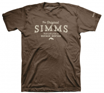 Футболка SIMMS The Original T-Shirt цвет Brown