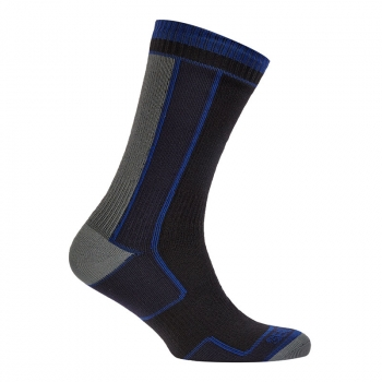 Носки SEALSKINZ Thin Mid Length Sock цвет Black в интернет магазине Rybaki.ru