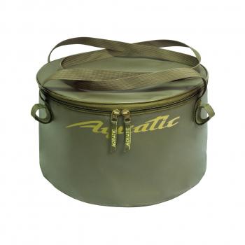 Ведро AQUATIC В-06 для замешивания корма (герметичное, с крышкой) в интернет магазине Rybaki.ru