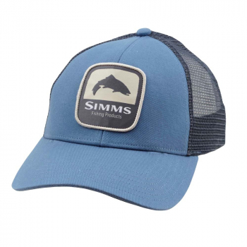 Кепка SIMMS Trout Patch Trucker цв. Blue Stream