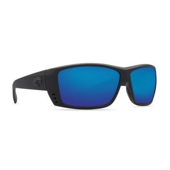 Очки поляризационные COSTA DEL MAR Cat Cay W580 р. L цв. Blackout цв. ст. Blue Mirror Glass