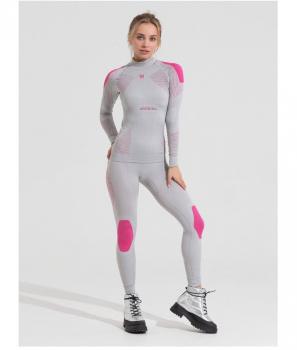 Комплект термобелья V-MOTION Alpinesports & SSFIT женский цвет серебристый
