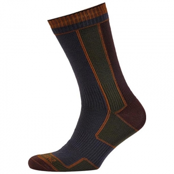 Носки SEALSKINZ Walking Sock цвет green/olive в интернет магазине Rybaki.ru