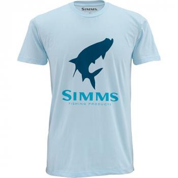 Футболка SIMMS Tarpon Logo SS T-Shirt цвет Seafoam
