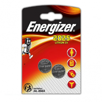 Батарейка ENERGIZER Miniatures Lithium CR2025 FSB 2 в интернет магазине Rybaki.ru