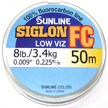 Флюорокарбон SUNLINE Siglon FC 50 м 0,415 мм в интернет магазине Rybaki.ru