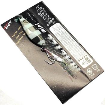 Блесна колеблющаяся TICT Maetel Mini 3,5 г цв. zebra silver в интернет магазине Rybaki.ru