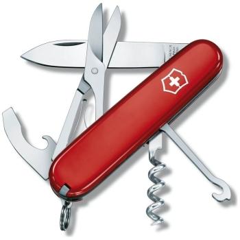 Нож VICTORINOX Compact 91мм 15 функций цв. черный в интернет магазине Rybaki.ru
