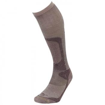 Носки LORPEN H2HO Hunting Extreme Overcalf цвет коричневый