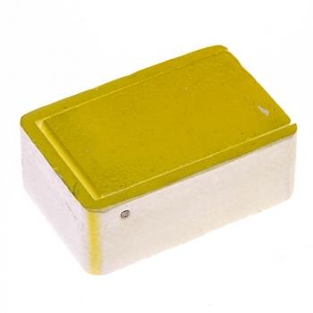 Мотыльница РОССИЯ Гx 7,5 х 5 х 2,8 см Желтая в интернет магазине Rybaki.ru