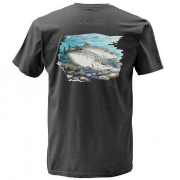 Футболка SIMMS Weiergang Atlantic Salmon цвет grey