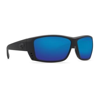 Очки поляризационные COSTA DEL MAR Cat Cay 580P р. L цв. Blackout цв. ст. Blue Mirror