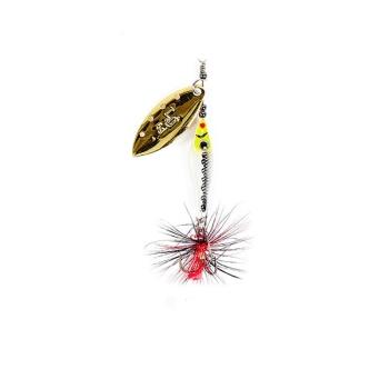 Блесна вращающаяся LUCKY JOHN Trian Blade Long 6 г код цв. #004