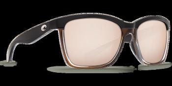 Очки поляризационные COSTA DEL MAR Anaa 580P р. M цв. Shiny Black on Brown цв. ст. Copper Silver Mirror