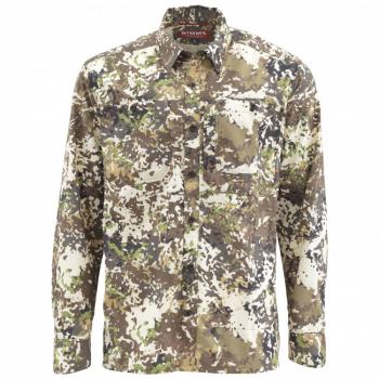 Рубашка SIMMS Ebb Tide LS Shirt цвет River Camo