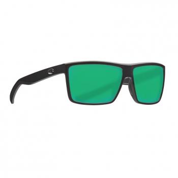 Очки поляризационные COSTA DEL MAR Rinconcito 580G р. M цв. Matte Black цв. ст. Green Mirror