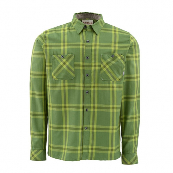 Рубашка SIMMS Black's Ford Flannel цвет Grove Plaid