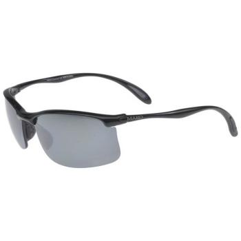 Очки солнцезащитные MAKO Diver цв. Shiny Black цв. стекла PC Silver Flash Mirror