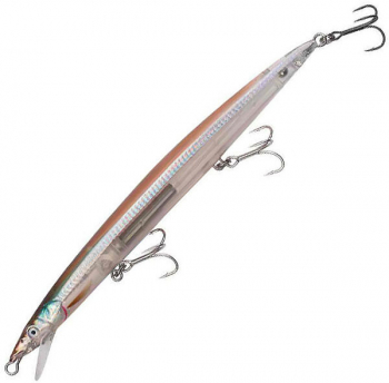 Воблер SAVAGE GEAR Sandeel Jerk minnow SS 14,5 см цв. 02-Olive Ghost