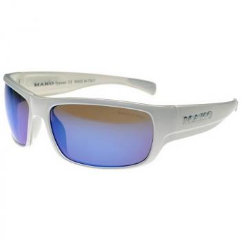 Очки солнцезащитные MAKO Escape цв. White Clear цв. стекла Gls HDIR Blue Mirror