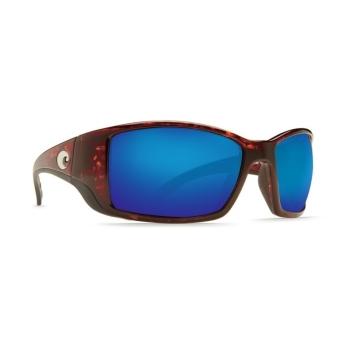 Очки поляризационные COSTA DEL MAR Blackfin W580 р. L Global Fit цв. Tortoise цв. ст. Blue Mirror Glass