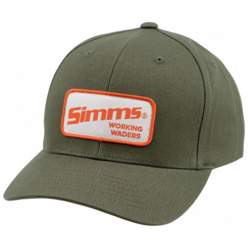 Бейсболка SIMMS Classic Baseball Cap цв. Working Waders Loden