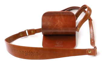 Разгрузка-подвес HUNTINGHORN 223 широкий Стекловолокно / Кожа цв. Коньяк в интернет магазине Rybaki.ru