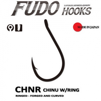 Крючок FUDO Fudo Chinu W/Ring № 5 GD-1102 (12 шт.)