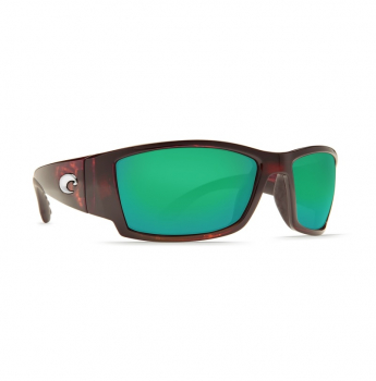 Очки поляризационные COSTA DEL MAR Corbina W580 р. L Global Fit цв. Tortoise цв. ст. Green Mirror Glass