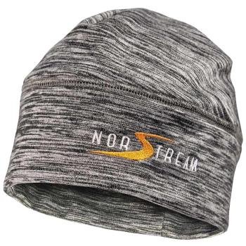 Шапка NORSTREAM с вышивкой цв. серо-оранжевый в интернет магазине Rybaki.ru