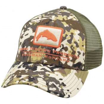 Кепка SIMMS Trout Icon Trucker цв. River Camo