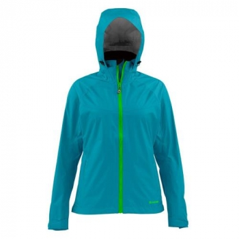 Куртка SIMMS Women's Hyalite Rain Shell цвет lagoon