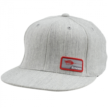 Кепка SIMMS Flexfit Patch Snap Back Cap цв. Natural Heather