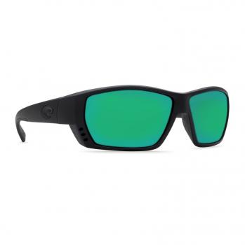 Очки поляризационные COSTA DEL MAR Tuna Alley 580P р. L цв. Blackout цв. ст. Green Mirror