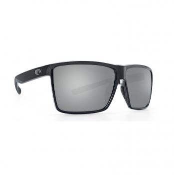 Очки поляризационные COSTA DEL MAR Rincon 580P р. XL цв. Shiny Black цв. ст. Gray Silver Mirror