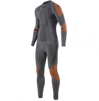 Комплект термобелья V-MOTION Alpinesports мужской цвет Серо-оранжевый в интернет магазине Rybaki.ru