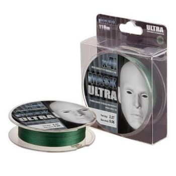 Плетенка AKKOI Mask Ultra X4-110 110 м 0,05 мм цв. green в интернет магазине Rybaki.ru