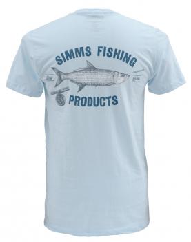 Футболка SIMMS Vintage Tarpon SS T-Shirt цвет Seafoam